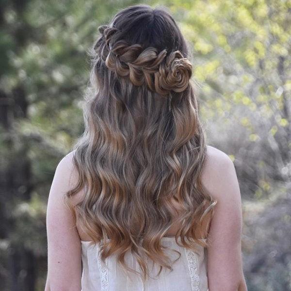 Peinados pelo suelto 5