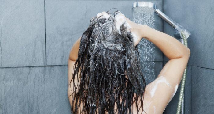 Shampoo con ácido salicílico
