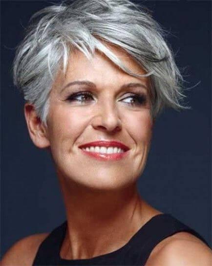 67 Imagenes Cortes De Pelo Corto Para Mujer Con Canas Free Descárgalo Peinados