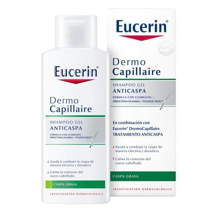shampoo eurocin anticaspa cabello graso ceborrea