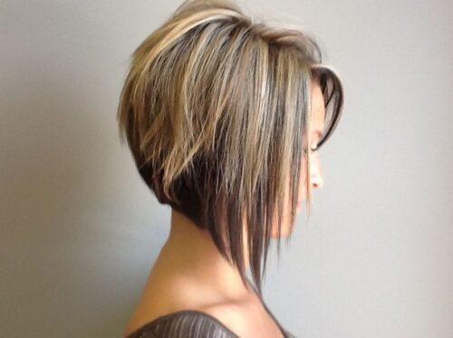 Peinados para graduación cabello Corto bob