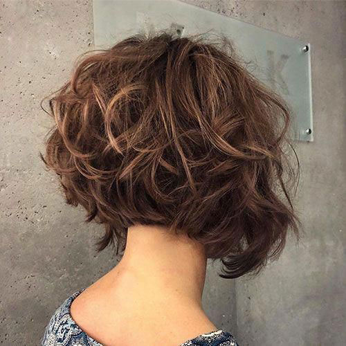 messy para cabello corto estilo bob