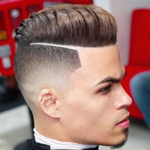cortes de pelo con lineas crop