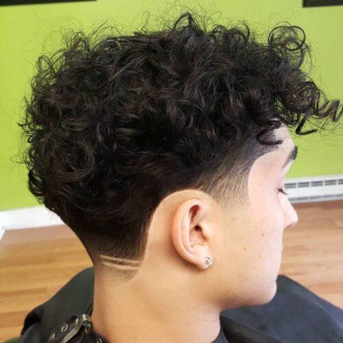 cortes de pelo con lineas simples