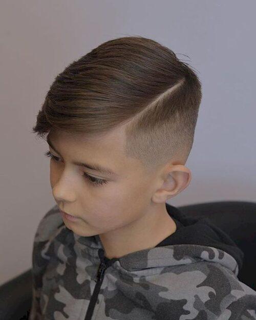 cortes de pelo para niños con lineas laterales