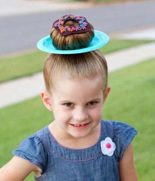 peinado de dona loco para niña