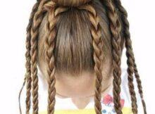 Peinados locos para niñas de pulpo