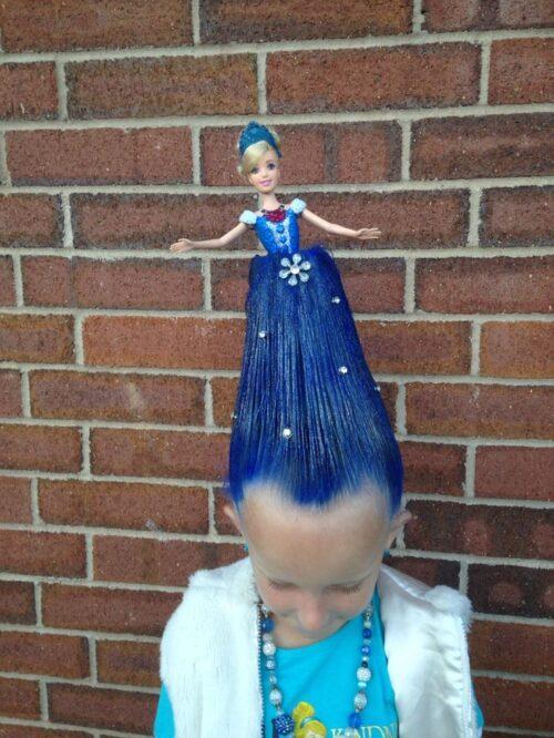 Peinados locos para niñas con muñeca