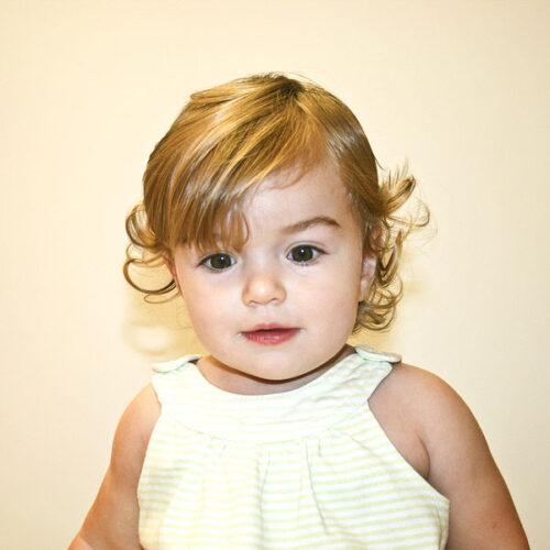 peinado natural para bebé