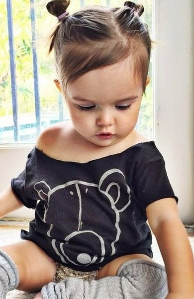 peinados para bebes niñas