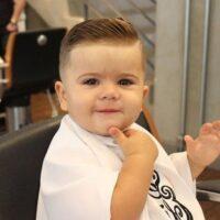 peinados para bebes niños