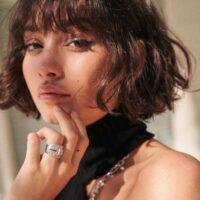corte italiano mujer shaggy corto