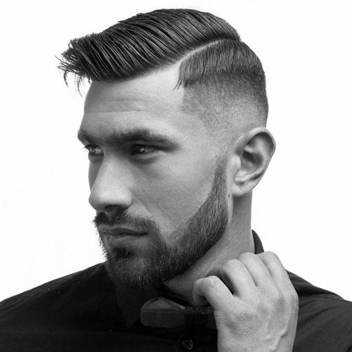 12 cortes de pelo estilo ITALIANO fade con linea