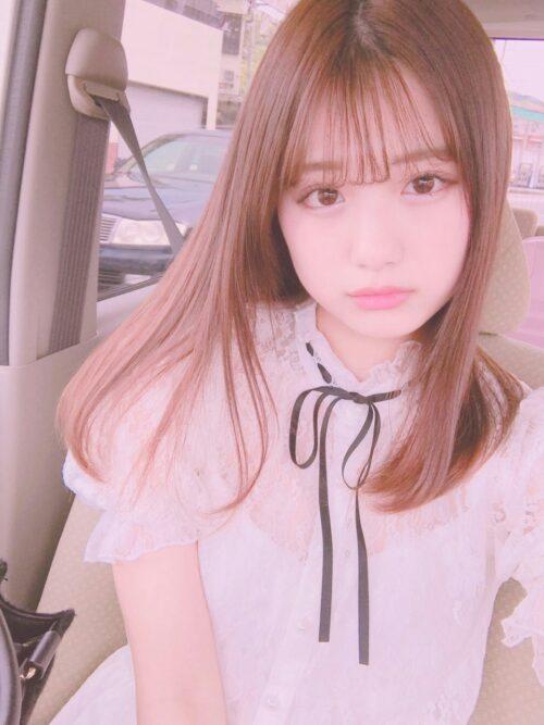cabello japonés corte medio kawaii