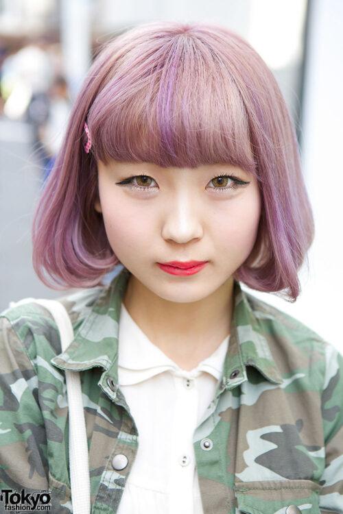 14 cortes de pelo estilo KAWAII estilo harajuku