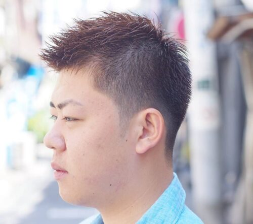 14 cortes de pelo japoneses fspiky corto