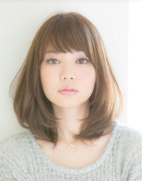 14 cortes de pelo japoneses long bob