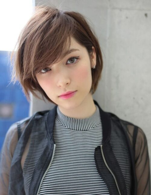 14 cortes de pelo japoneses long pixie