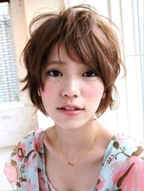 corte de pelo estilo japonés pixie shaggy