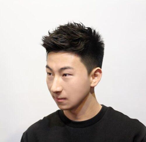 cortes de pelo facheros hombre spiky