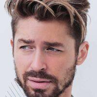 cortes de pelo facheros hombres fade con mechas