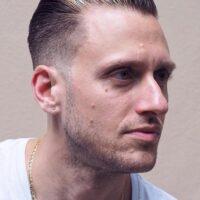 cortes de pelo facheros para hombres con mechón