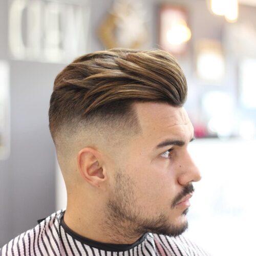 cortes de pelo facheros hombre fade