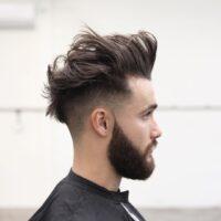 cortes de pelo facheros de hombre fade largo