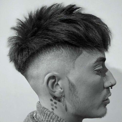 cortes hombre estilo punk