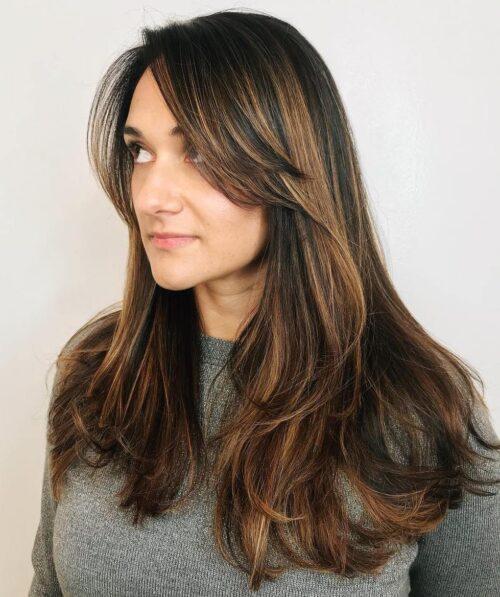 cortes de pelo con fleco grafilados 7